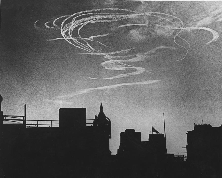 Air Raid Pattern Photograph by David Savill