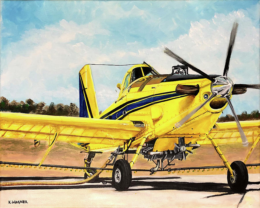 Air Tractor 802 Loading by Karl Wagner