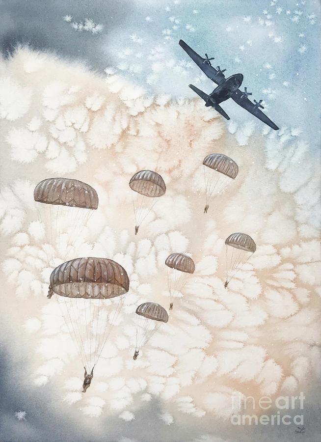 Airborne All the Way by Zaira Dzhaubaeva