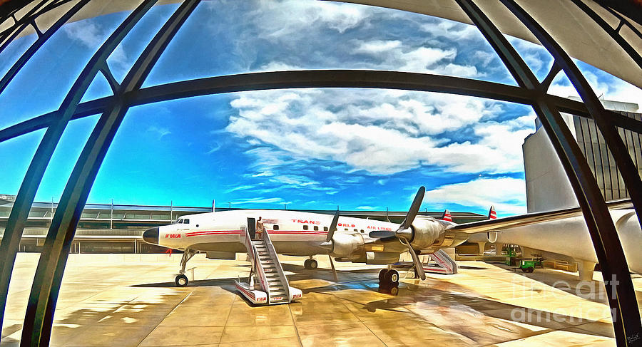 Airplane Bar TWA Hotel JFK by Nishanth Gopinathan