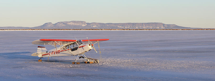 Aircraft Photograph - Airplane In The Harbour by Jakub Sisak