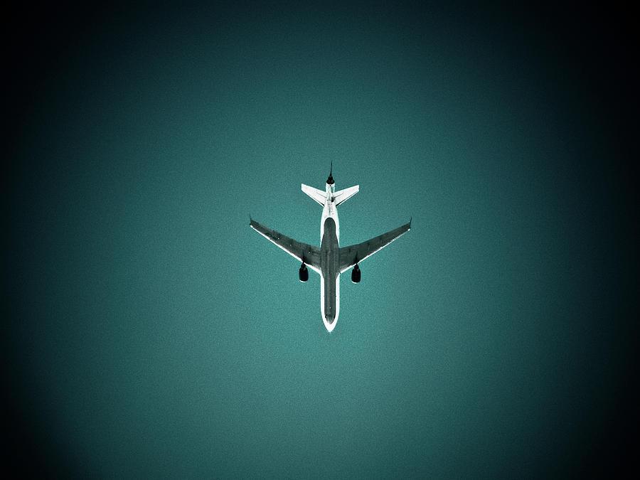Airplane Silhouette Photograph by Miikka S Luotio