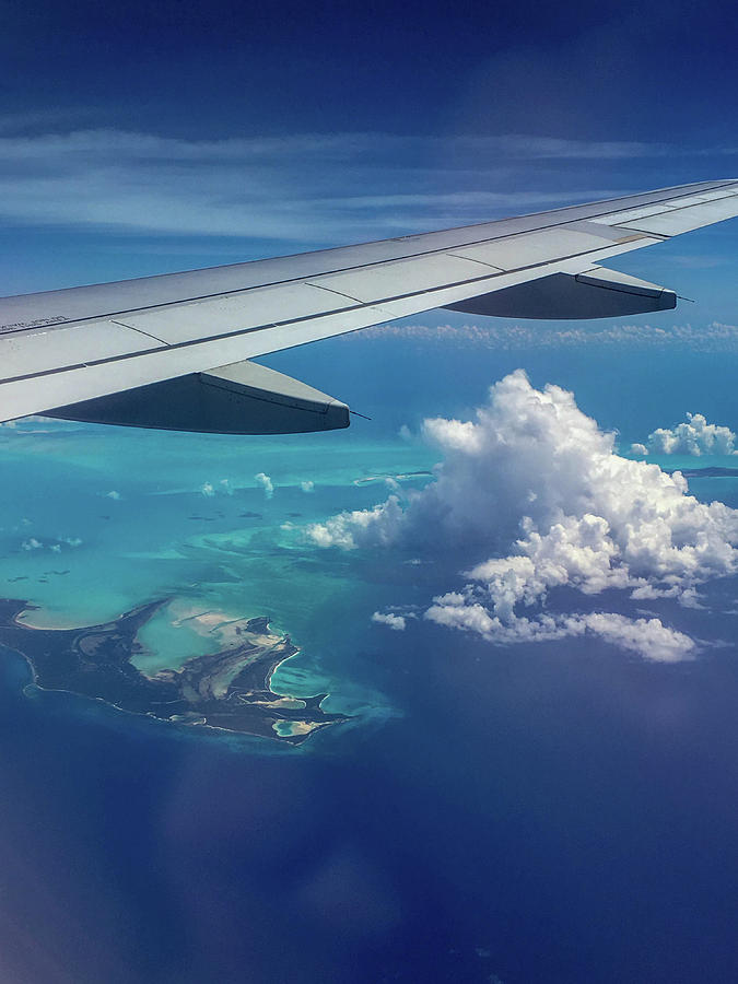 Airplane Window View Photograph By Payton Schafer