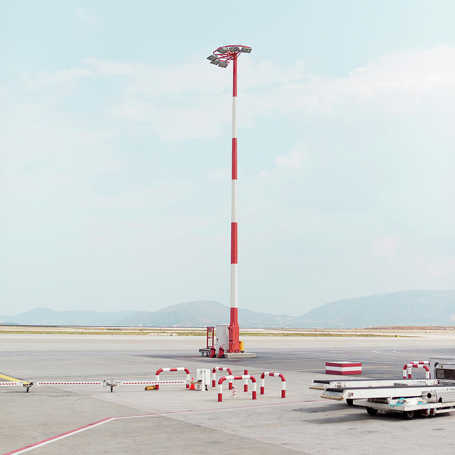 Airport Runway Photograph by Roc Canals Photography