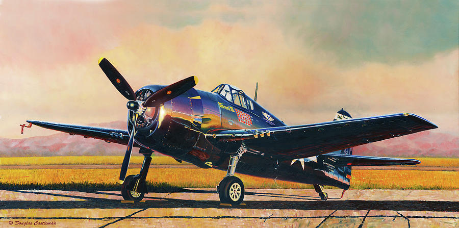 Airshow Hellcat by Douglas Castleman