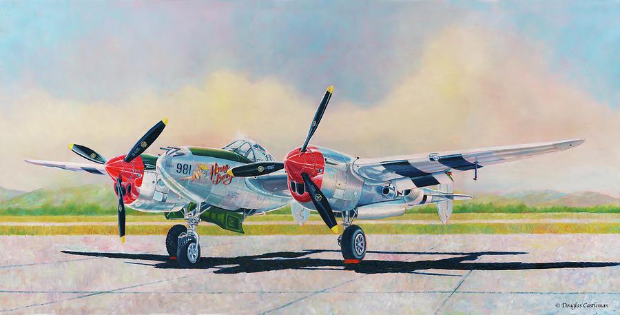 Airshow P-38L Lightning by Douglas Castleman