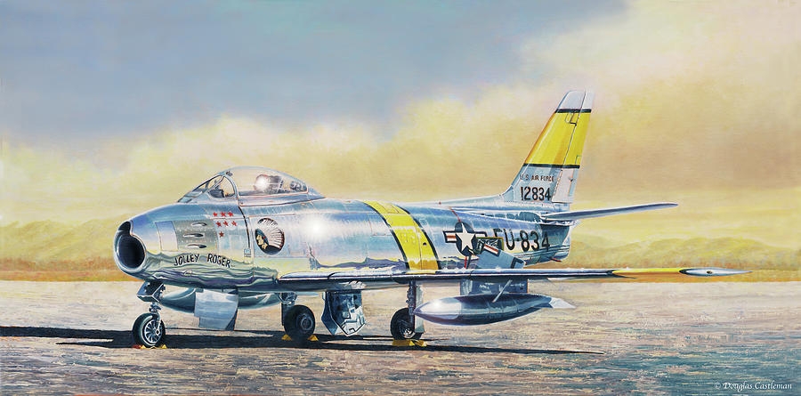 Airshow Sabre by Douglas Castleman