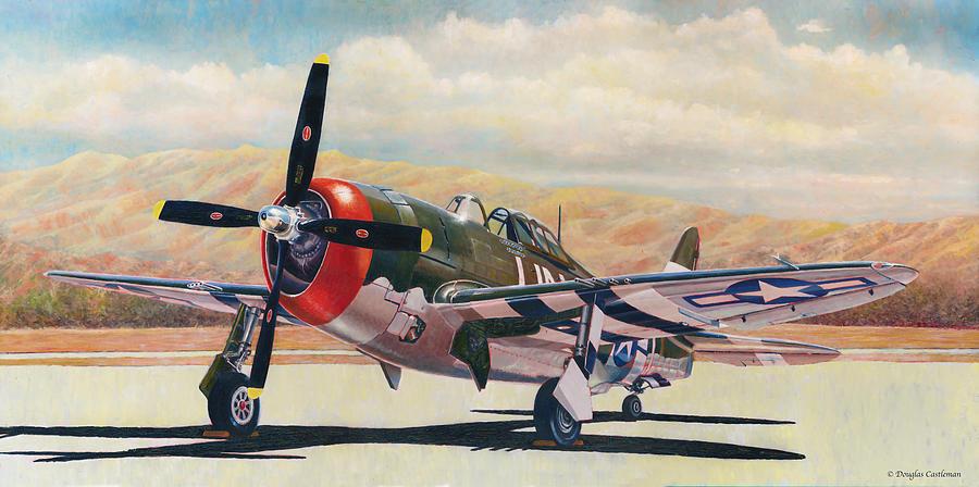 Airshow Thunderbolt by Douglas Castleman