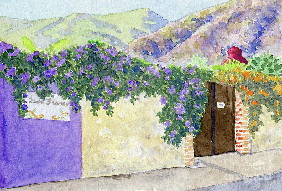 Ajijic Casa Flores by Anne Marie Brown