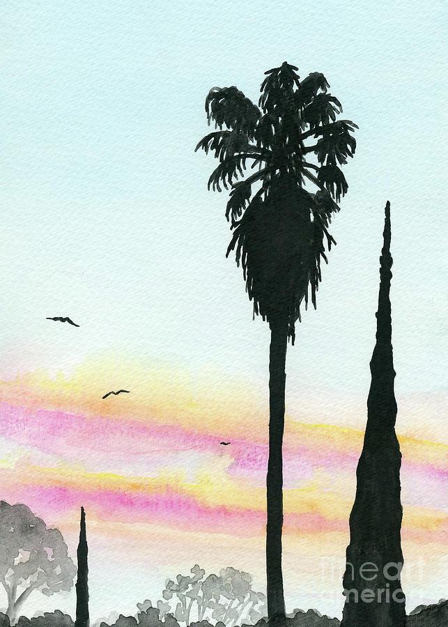 Ajijic Sunrise by Anne Marie Brown