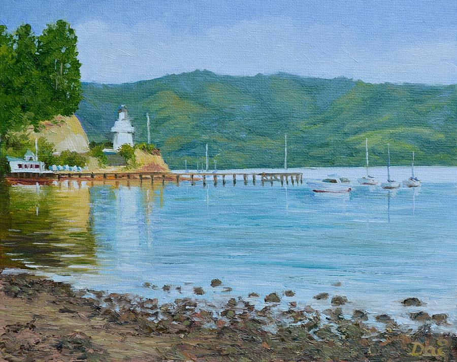 Akaroa Yacht Club by Dai Wynn