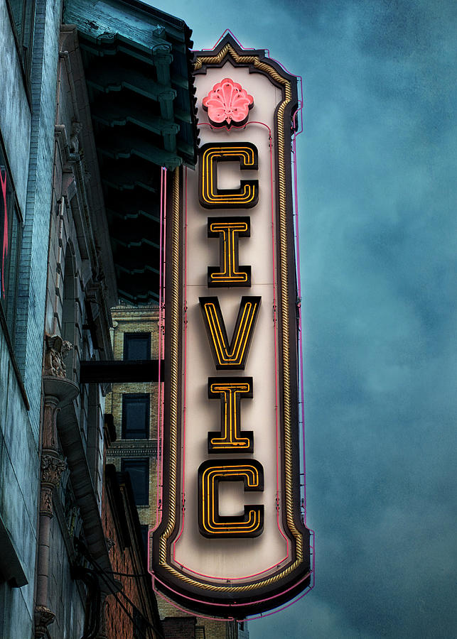 Akron Civic Theatre  by Rosette Doyle