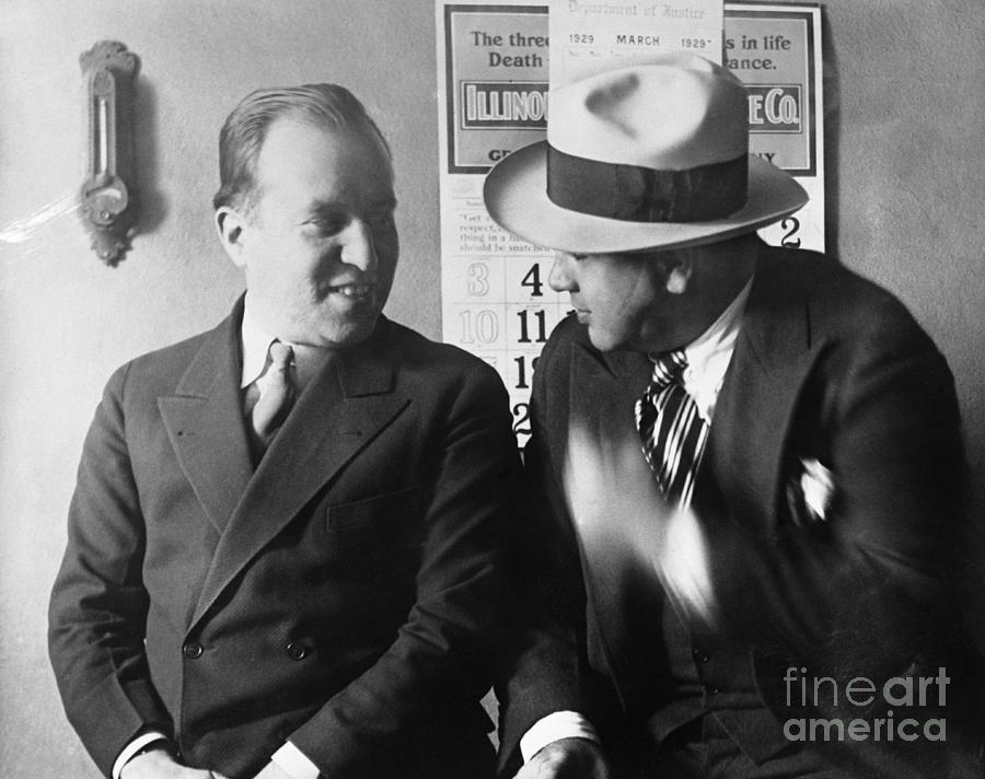 Al Capone And Benjamin Epstein Photograph by Bettmann