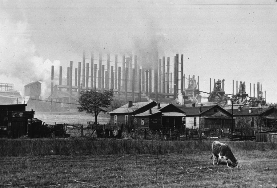 Alabama Factory Photograph by Arthur Rothstein