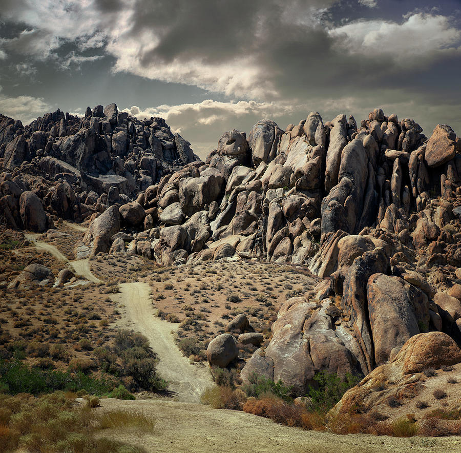 Alabama Hills, Lone Pine, California Photograph by Ed Freeman