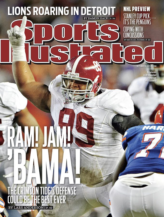 Alabama V Florida Sports Illustrated Cover Photograph by Sports Illustrated