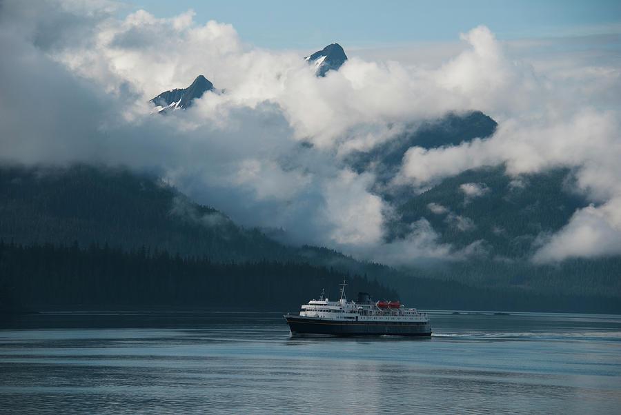 Alaska ferry boat Matanuska by Yulia Kazansky
