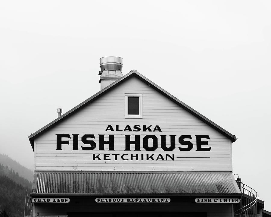 Alaska Fish House Photograph