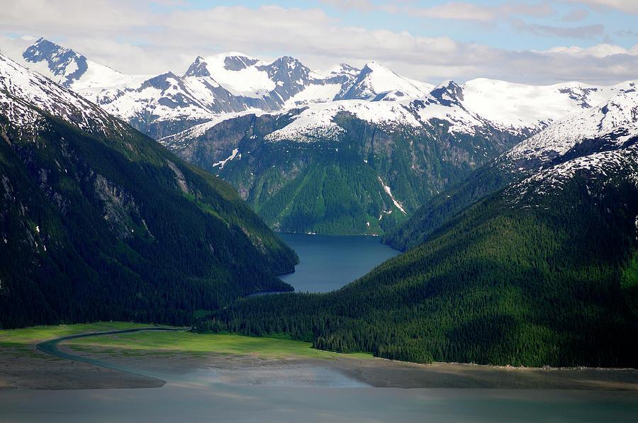 Alaska From The Air Photograph by Groveb