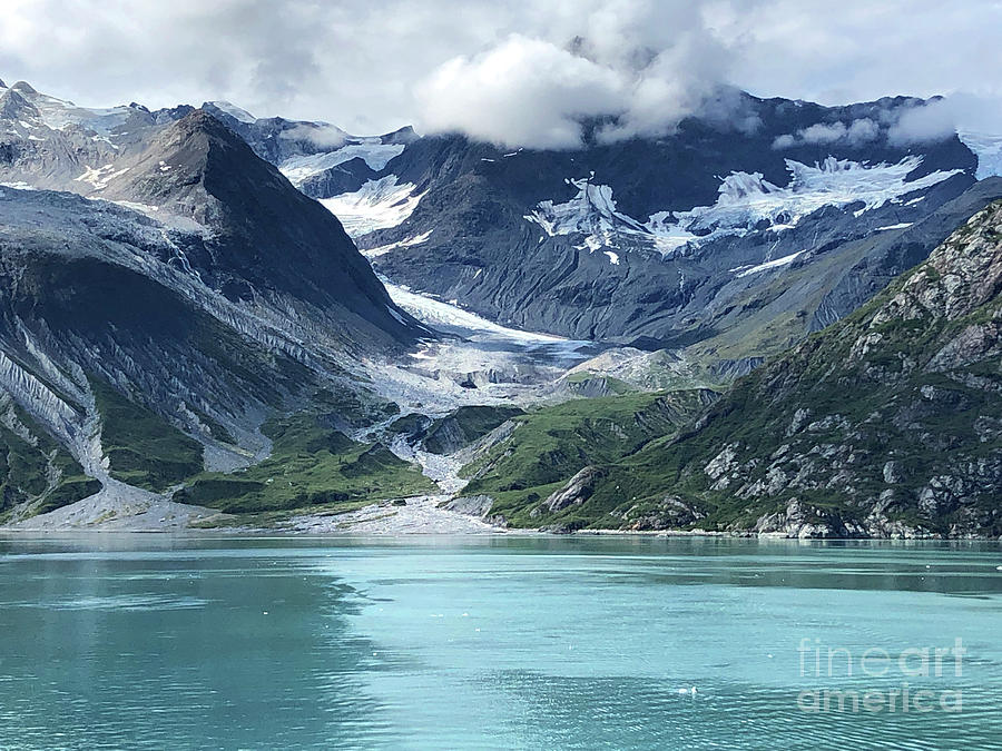 Alaska Glacier by Jeanette French