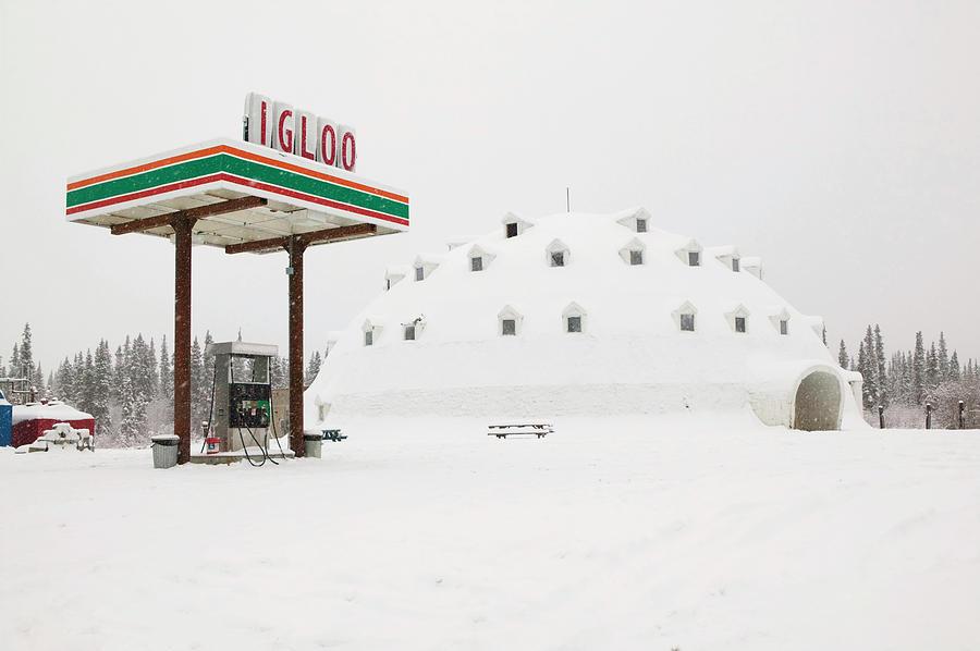 Alaska, Interior, Broad Pass Photograph by Walter Bibikow