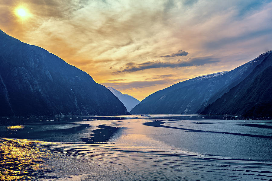 Alaskan Fjord by Maria Coulson