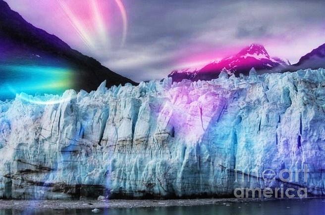 Alaskan lights by Pamela Walrath