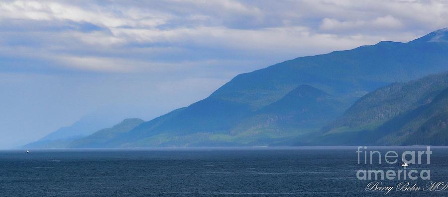 Alaskan sailing by Barry Bohn