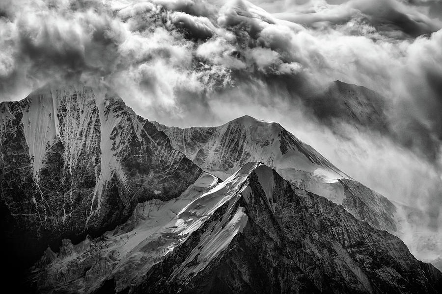 Alaskan Splendor in Black and White by Rick Berk