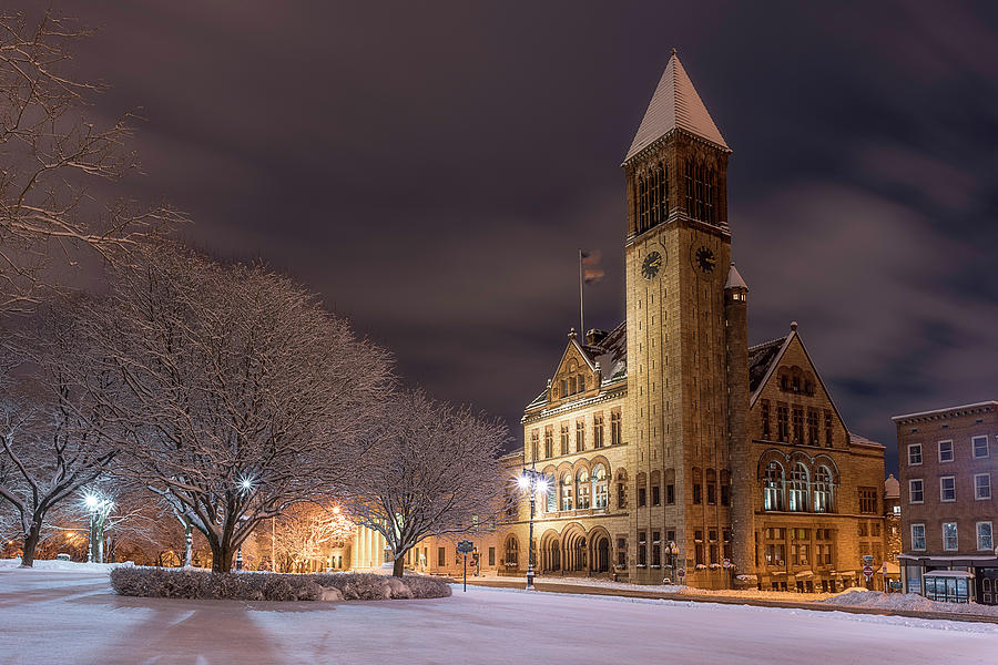 Albany City Hall by Brad Wenskoski