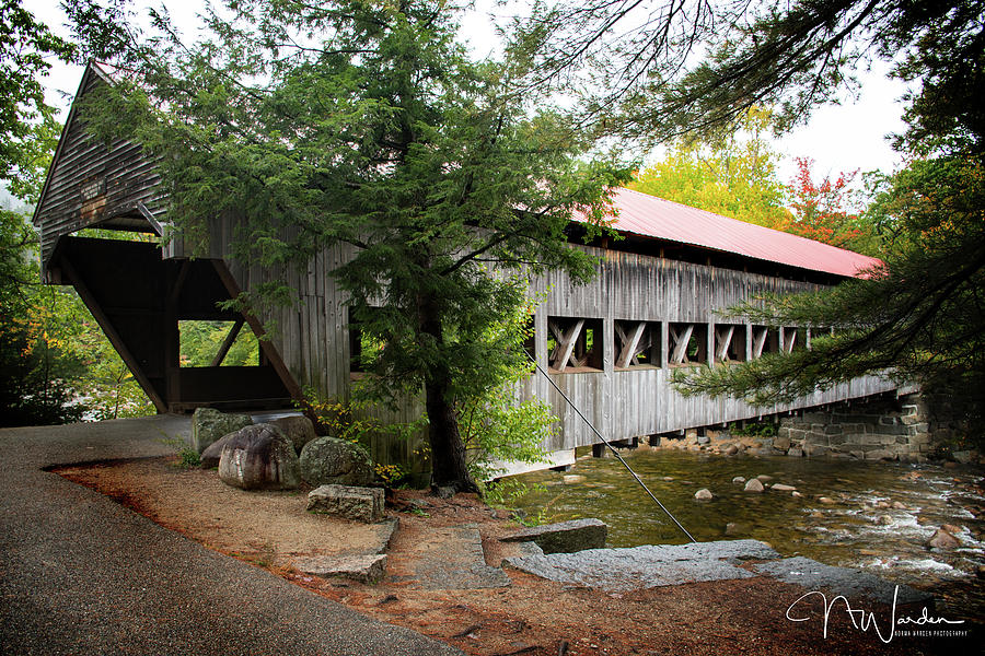 Albany Covered Bridge by Norma Warden
