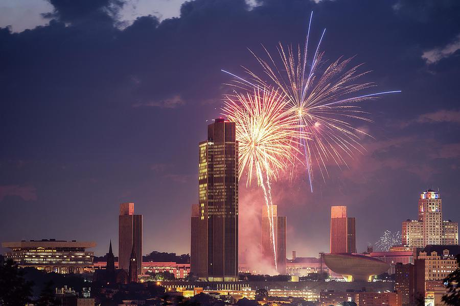 Albany Fireworks 2019 by Brad Wenskoski