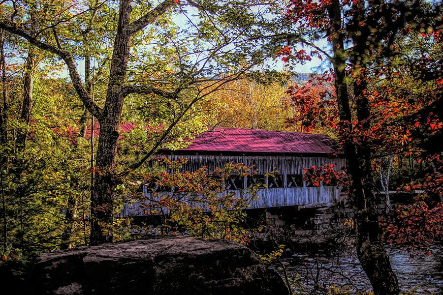 Albany New Hampshire Covered Bridge by Jeff Folger