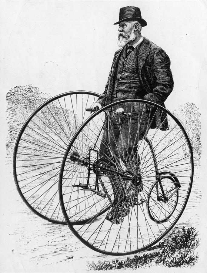 Albemarle Cycles Digital Art by Hulton Archive