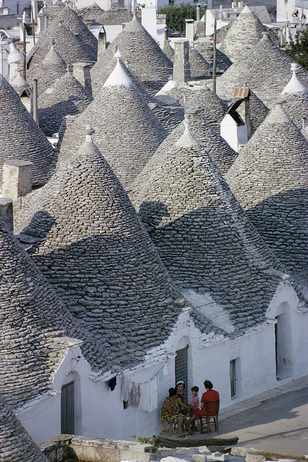 Alberobello Photograph by Slim Aarons