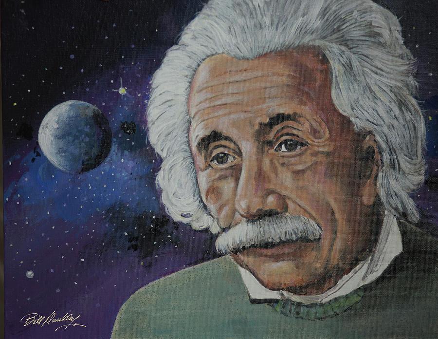 Albert Einstein by Bill Dunkley
