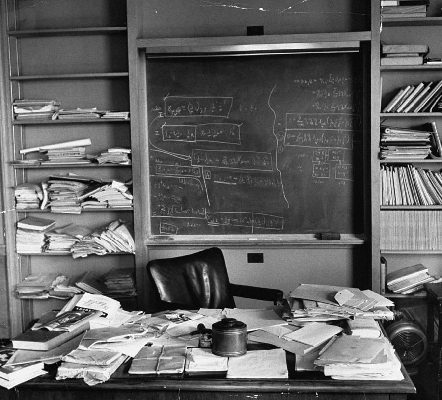 Albert Einstein Misc Photograph by Ralph Morse
