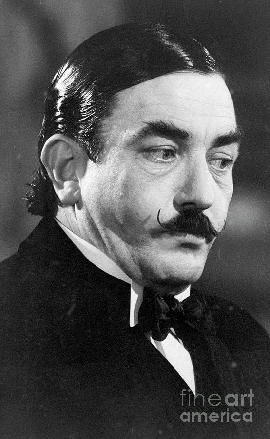 Albert Finney As Hercule Poirot Photograph by Bettmann