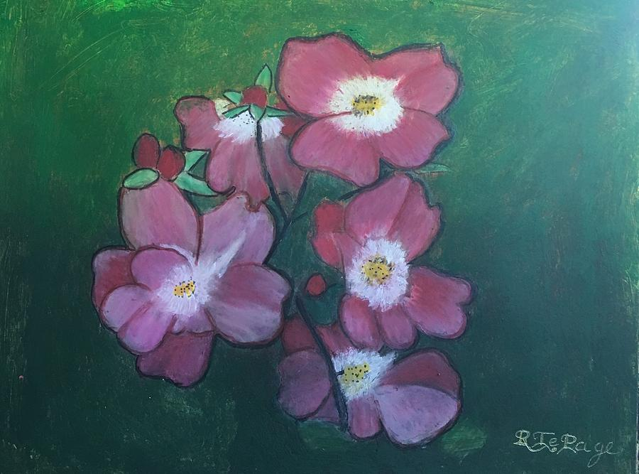 Alberta Wild Rose by Richard Le Page