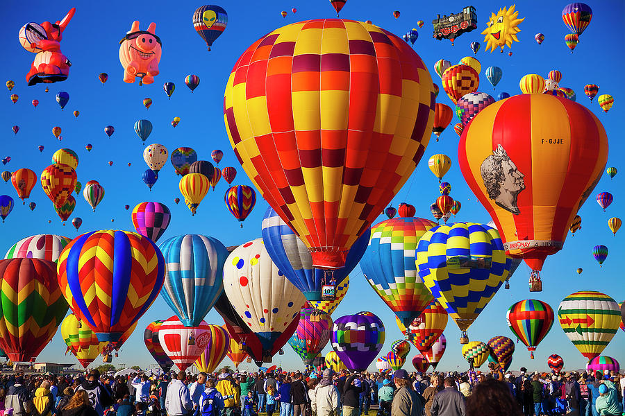 Albuquerque Balloon Fiesta Photograph by Bill Heinsohn