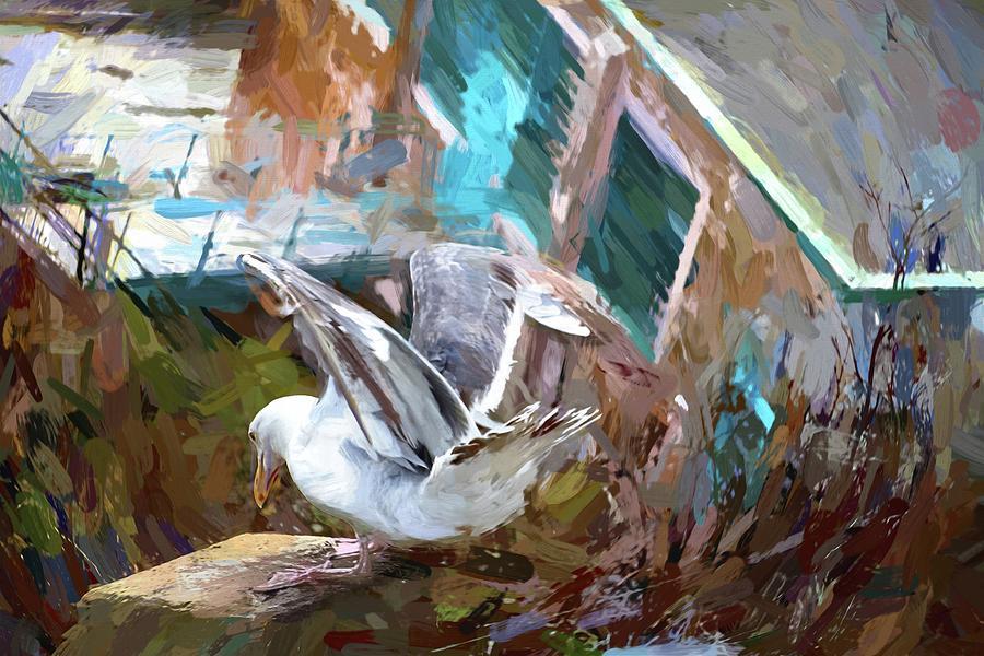 Alcatraz Cling by Alice Gipson