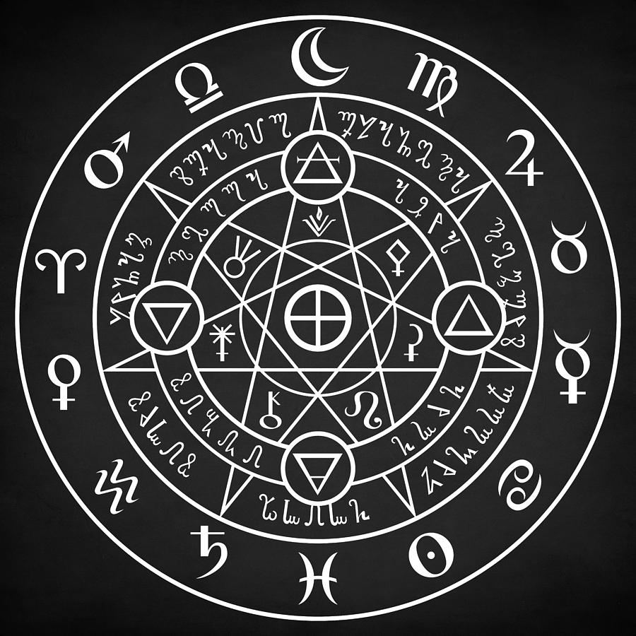 Alchemical Sigil by Zapista Zapista
