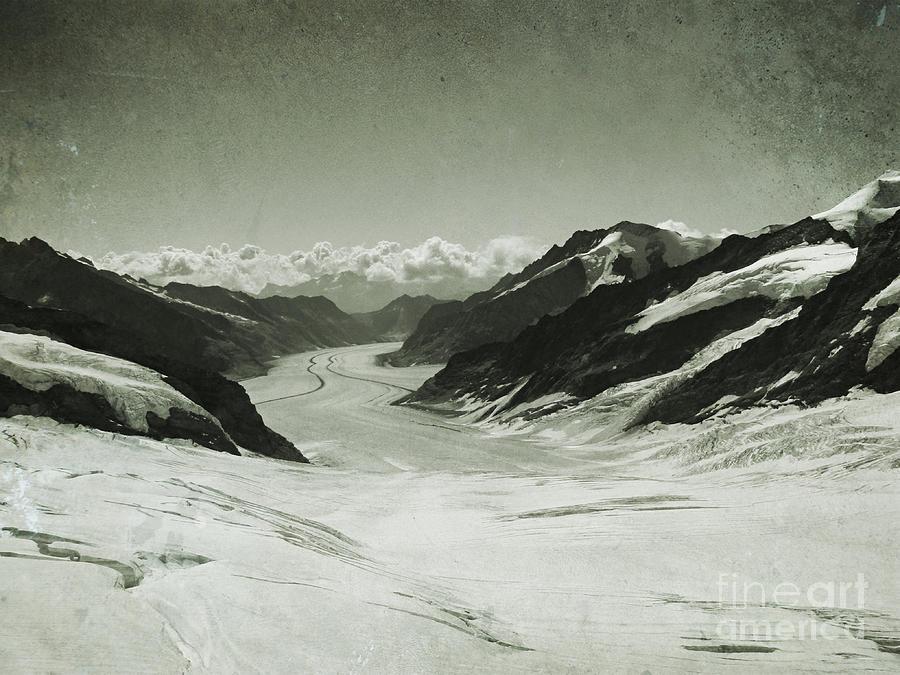 Aletsch Glacier by Jurgen Huibers