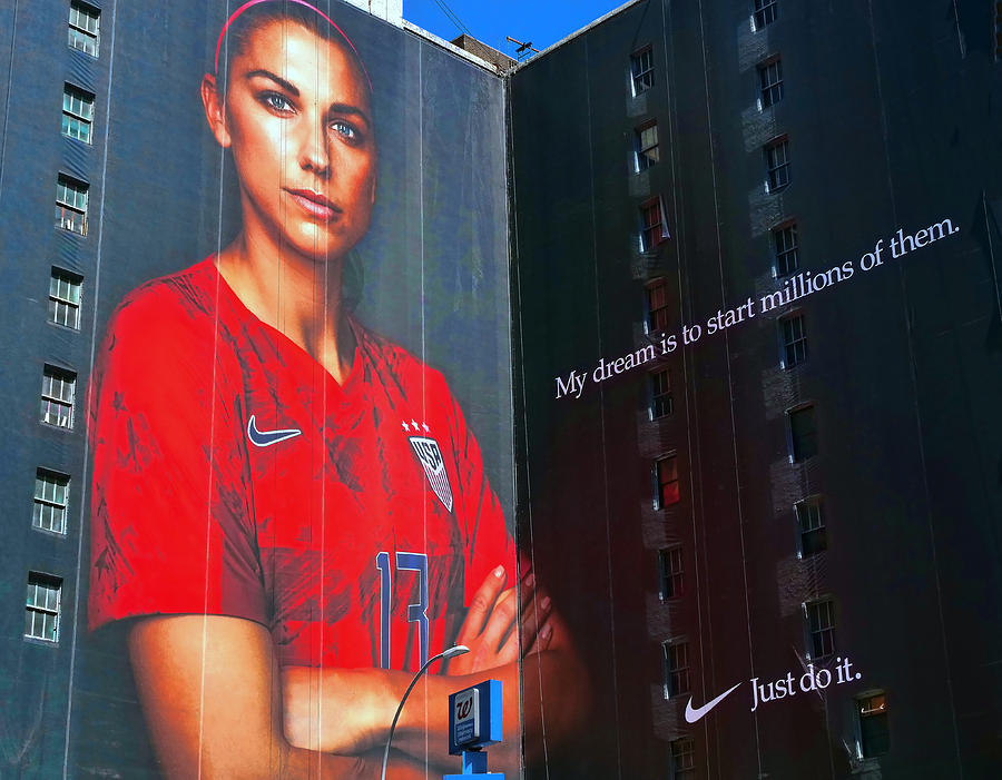 Alex Morgan, Just Do It, The World Cup That Is by Allen Beatty