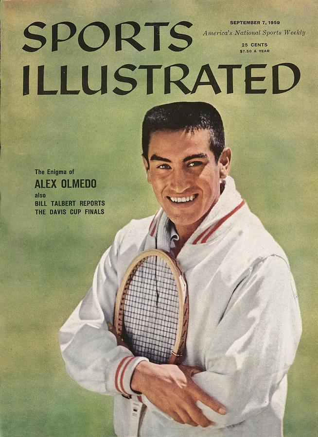 Alex Olmedo, Tennis Sports Illustrated Cover Photograph by Sports Illustrated