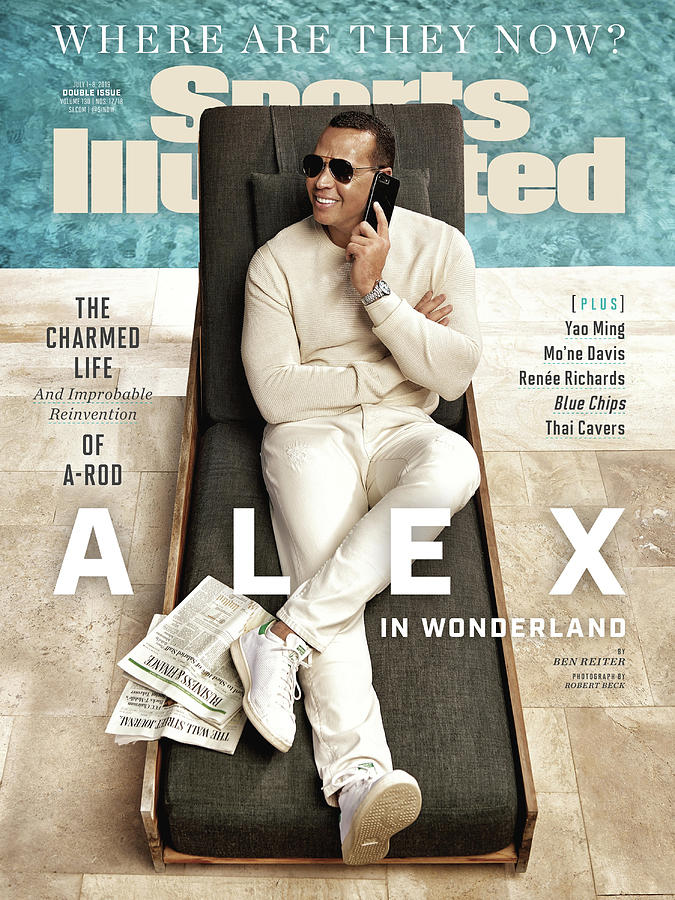 Alex Rodriguez, Where Are They Now Sports Illustrated Cover Photograph by Sports Illustrated