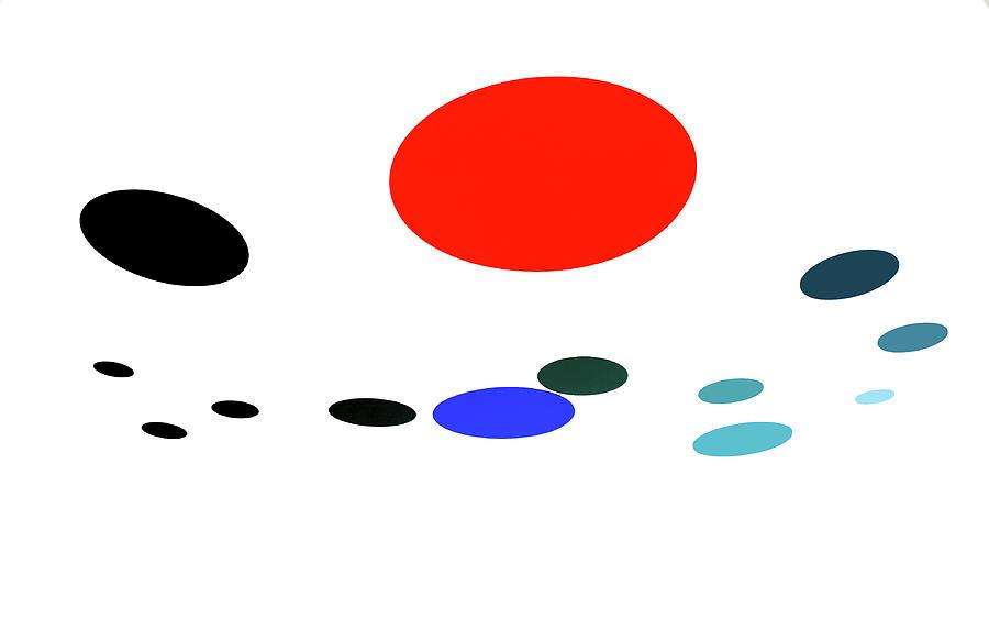Alexander Calder Spots 2 by Marilyn Hunt