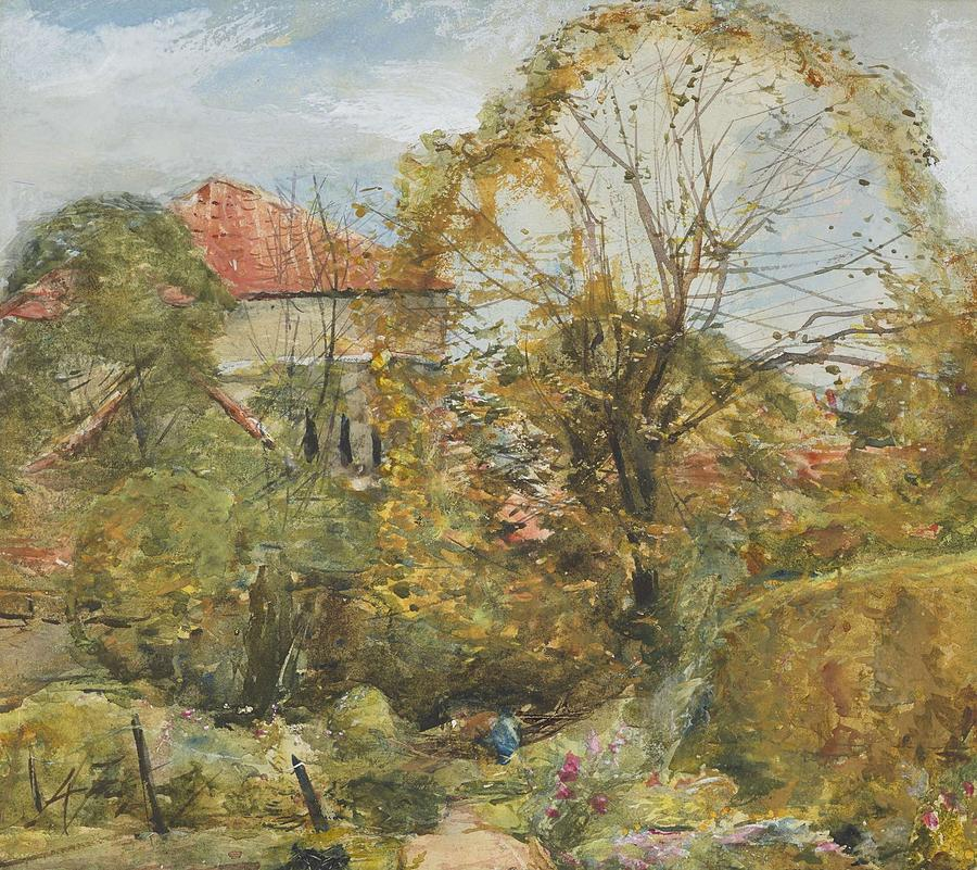 Alexander Fraser, The Younger, Octobers Workmanship To Rival May Painting