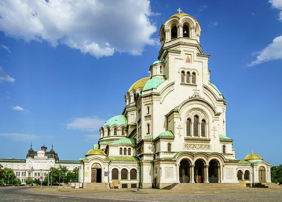 Alexander Nevsky Cathedral Photograph