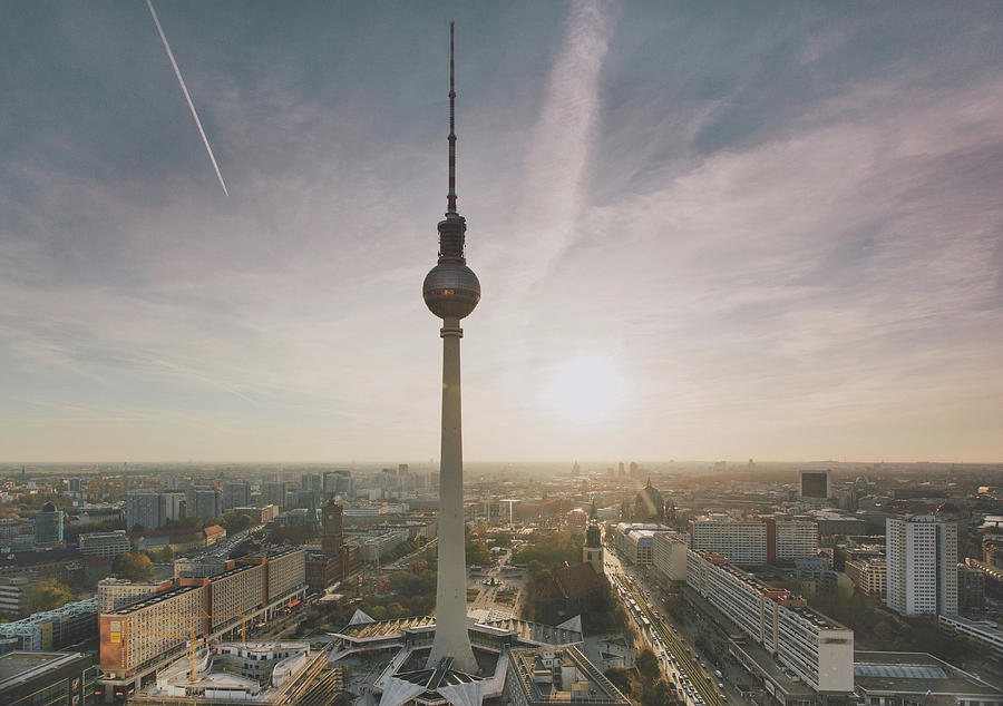 Alexanderplatz, Berlin Photograph by Guido Mieth